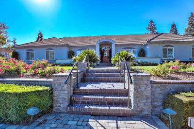 MORGAN HILL Single Family Home For Sale: 14625 Badger Pass Rd