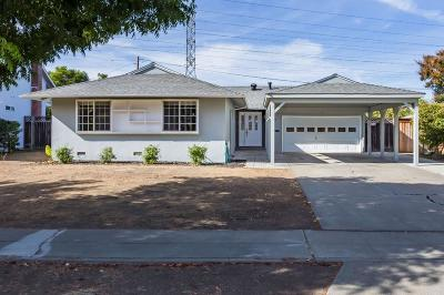 Cupertino, Sunnyvale Single Family Home For Sale: 1045 Robin Way