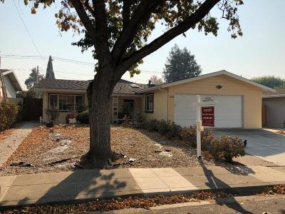 MILPITAS Single Family Home For Sale: 1636 Edsel Dr