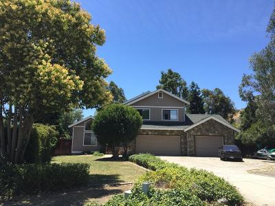 MORGAN HILL Single Family Home For Sale: 18449 Shadowbrook Way
