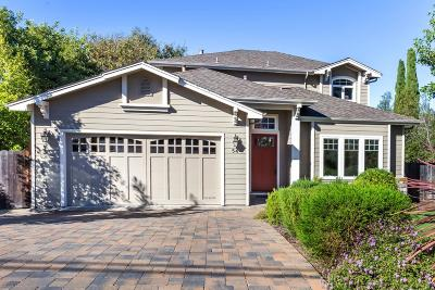 REDWOOD CITY Single Family Home For Sale: 54 W Summit Dr
