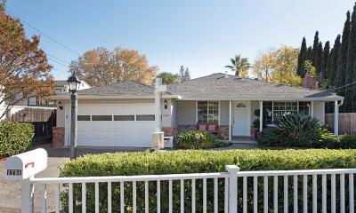 Redwood City Single Family Home For Sale: 1751 Hull Ave