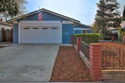 San Jose Single Family Home For Sale: 6793 Muscat Dr