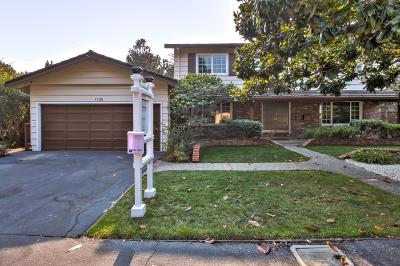 MENLO PARK Single Family Home For Sale: 1105 Hidden Oaks Dr