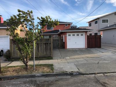 San Bruno Single Family Home For Sale: 45 Scott St