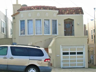 San Francisco County Single Family Home For Sale: 3015 Ulloa St