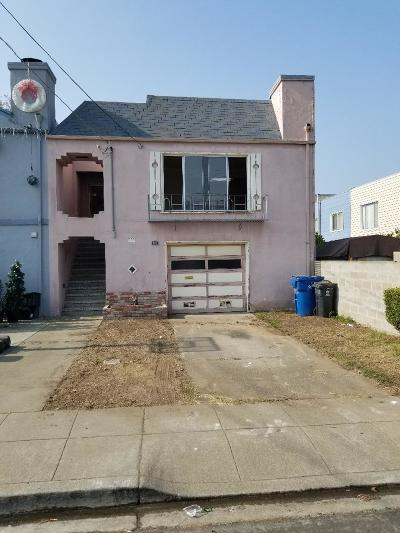 Daly City Single Family Home For Sale: 318 1st Ave