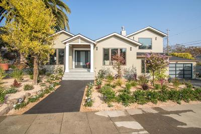 SAN MATEO Single Family Home For Sale: 931 Harvard Rd