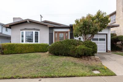SOUTH SAN FRANCISCO Single Family Home For Sale: 379 Dolores Way