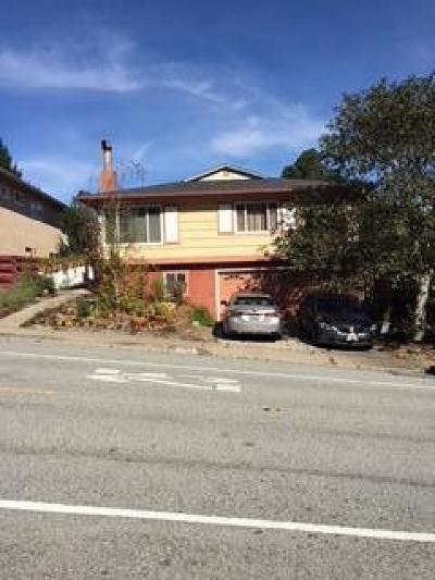 SAN BRUNO CA Single Family Home For Sale: $1,300,000