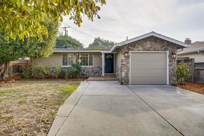 SANTA CLARA Single Family Home For Sale: 1912 Bellomy St