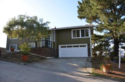 PACIFICA Single Family Home For Sale: 11 Humboldt Ct