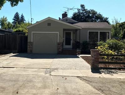 Redwood City Single Family Home For Sale: 334 Lowell St