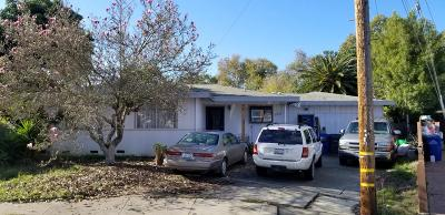 Santa Cruz County Single Family Home Contingent: 125 Stratford Dr