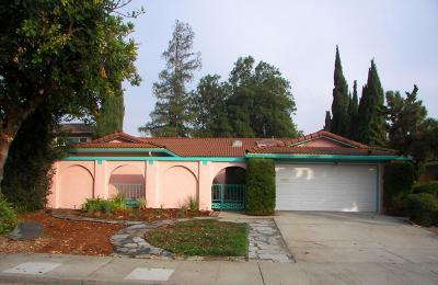 Los Altos, Los Altos Hills, Mountain View, Sunnyvale Single Family Home For Sale: 426 Pin Oak Dr