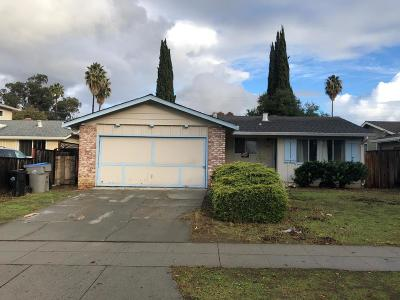 SAN JOSE Single Family Home For Sale: 3490 Woodside Ln