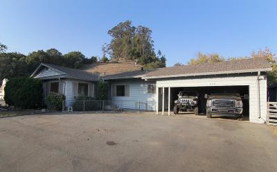 Santa Cruz County Single Family Home For Sale: 286 Hames Rd