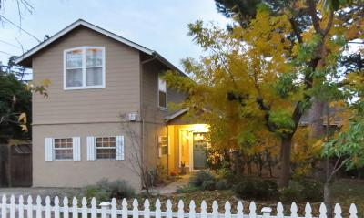 LOS GATOS Single Family Home For Sale: 504 University Ave