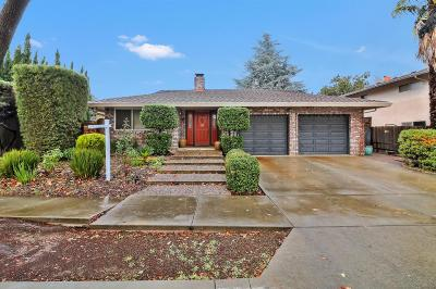 Gilroy Single Family Home For Sale: 7571 Santa Barbara Dr
