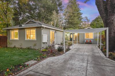 MENLO PARK Single Family Home For Sale: 410 8th Ave
