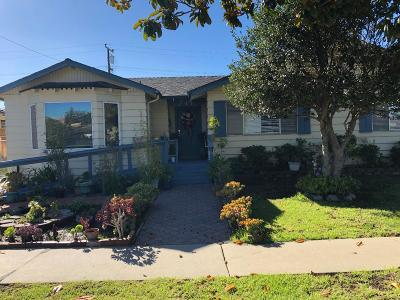 SALINAS Single Family Home For Sale: 745 Carmelita Dr.