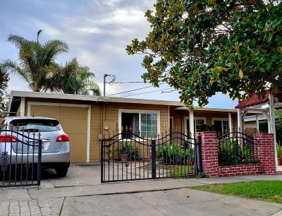 SAN JOSE Single Family Home For Sale: 97 Basch Ave
