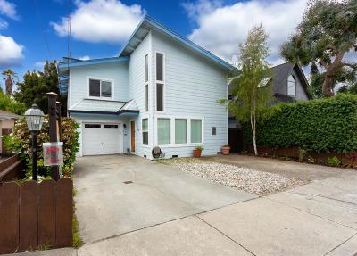Aptos Single Family Home For Sale: 227 Center Ave