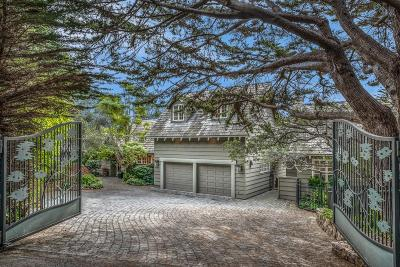 Pebble Beach Single Family Home For Sale: 3892 Ronda Rd