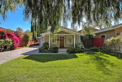 SAN JOSE Single Family Home For Sale: 1460 Davis St