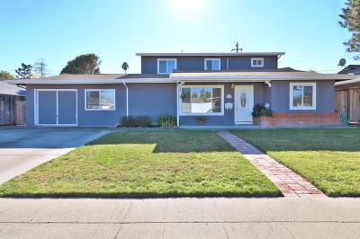 SAN JOSE Single Family Home For Sale: 1362 Vallejo Dr
