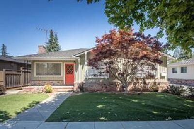 REDWOOD CITY Multi Family Home For Sale: 1552 Roosevelt Ave