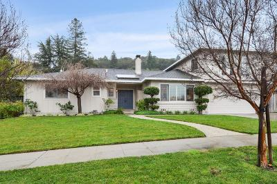 SAN JOSE CA Single Family Home For Sale: $1,599,000