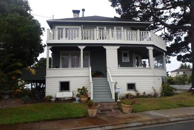 PACIFIC GROVE CA Single Family Home For Sale: $1,750,000