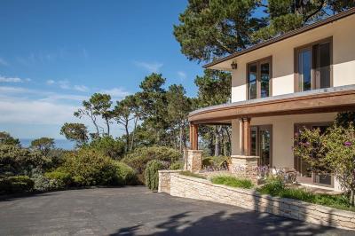 Pebble Beach Single Family Home For Sale: 4008 Sunridge Rd