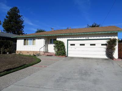 San Jose Single Family Home For Sale: 1859 Nelson Way