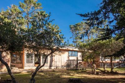 Pebble Beach Single Family Home Contingent: 1440 Lisbon Ln