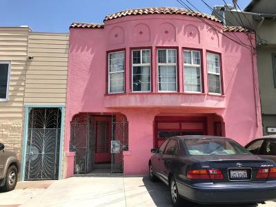 SAN FRANCISCO Single Family Home For Sale: 1333 Geneva Ave