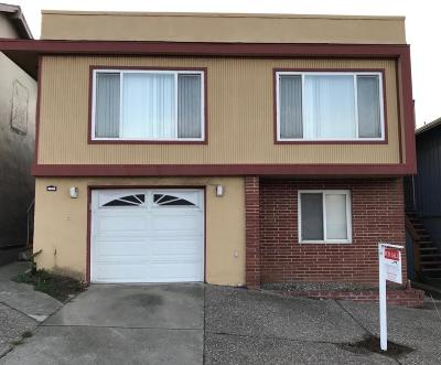Daly City Single Family Home For Sale: 648 Saint Francis Blvd