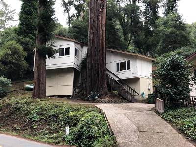 APTOS Single Family Home Contingent: 626 Cathedral Dr