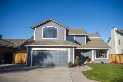 HOLLISTER CA Single Family Home For Sale: $629,900