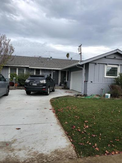 SAN JOSE CA Single Family Home For Sale: $1,250,000