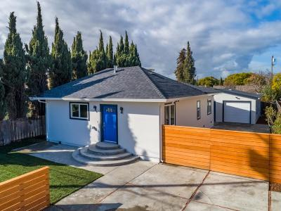 REDWOOD CITY Single Family Home For Sale: 549 Macarthur Ave