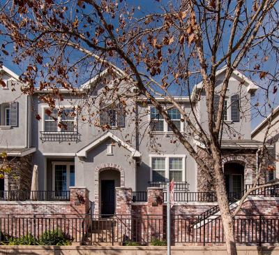 Mountain View, Sunnyvale Townhouse For Sale: 1140 Le Mans Ter