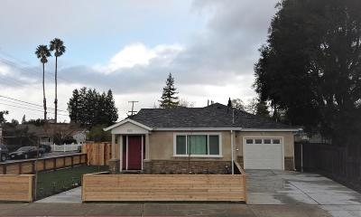 Redwood City Single Family Home For Sale: 1505 Union Ave
