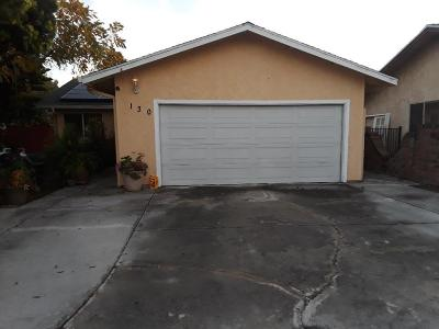 East Palo Alto Single Family Home For Sale: 130 Myrtle Myrtle Ct