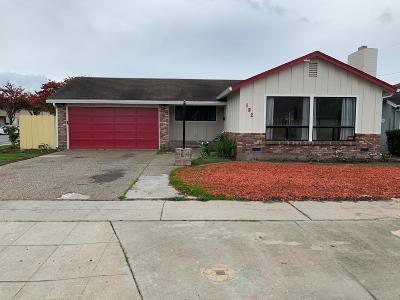 SALINAS Single Family Home For Sale: 192 Gardenia Dr