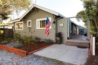 Santa Cruz Single Family Home For Sale: 410 12th Ave