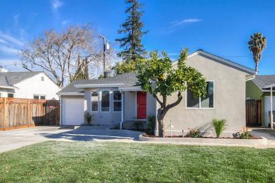SAN JOSE Single Family Home For Sale: 1342 Forrestal Ave