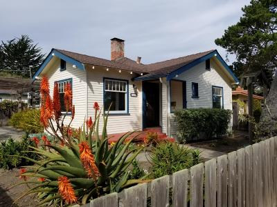 Pacific Grove Single Family Home For Sale: 714 19th & 670 Sinex