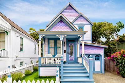 Pacific Grove Single Family Home For Sale: 718 Grove St